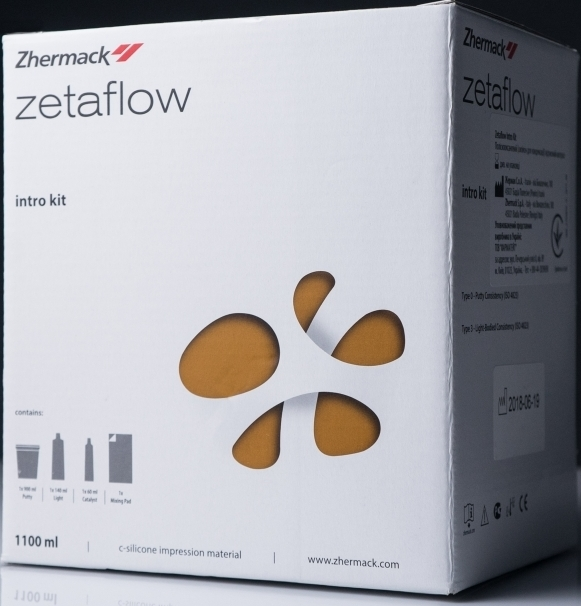 ZetaFlow intro kit  1100мл (Zhermack)