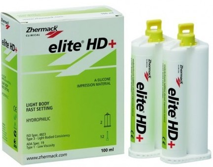 Elite HD+ Light Body Fast Set 2*50 мл, (Zhermack)