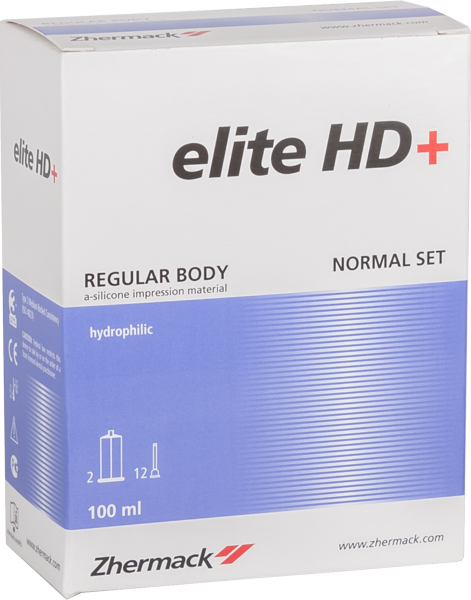 Elite HD+ regular body normal set 2*50 мл, (Zhermack)
